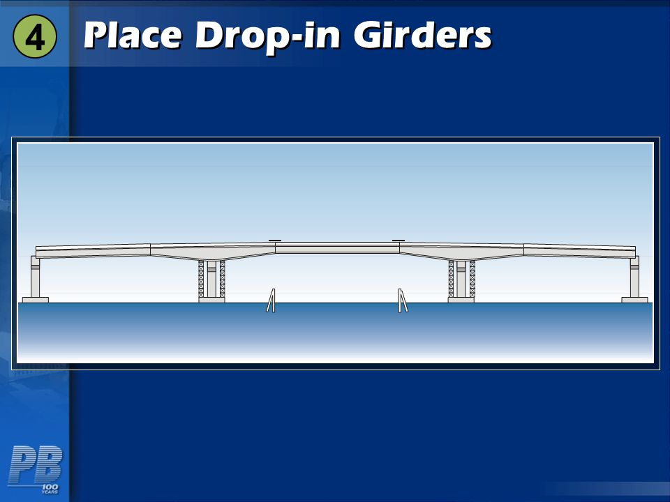 4 Place Drop-in Girders