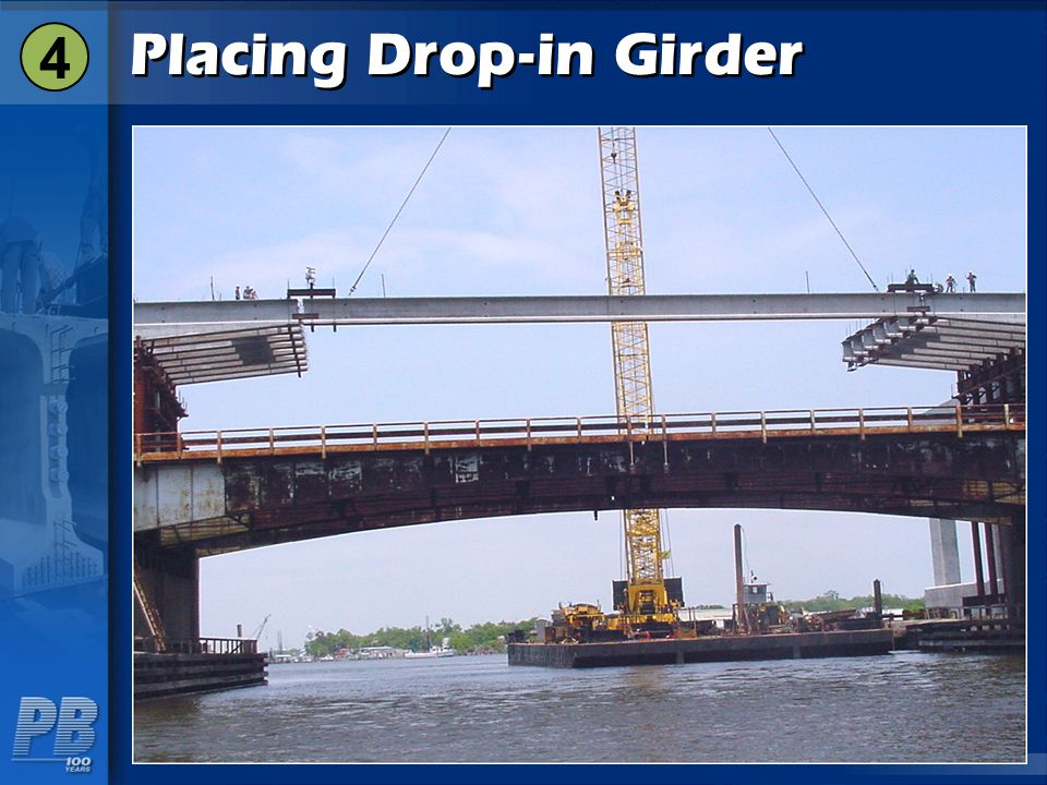 Placing Drop-in Girder