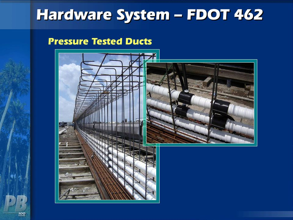 Hardware System – FDOT 462 Pressure Tested Ducts