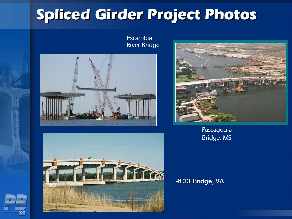 Spliced Girder Project Photos