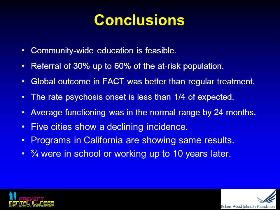 Conclusions Five cities show a declining incidence.
