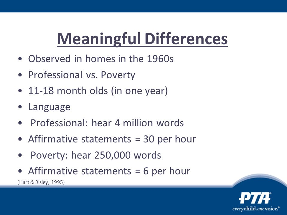 Meaningful Differences