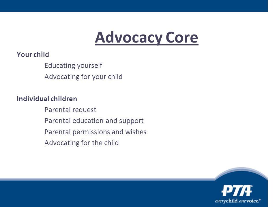 Advocacy Core