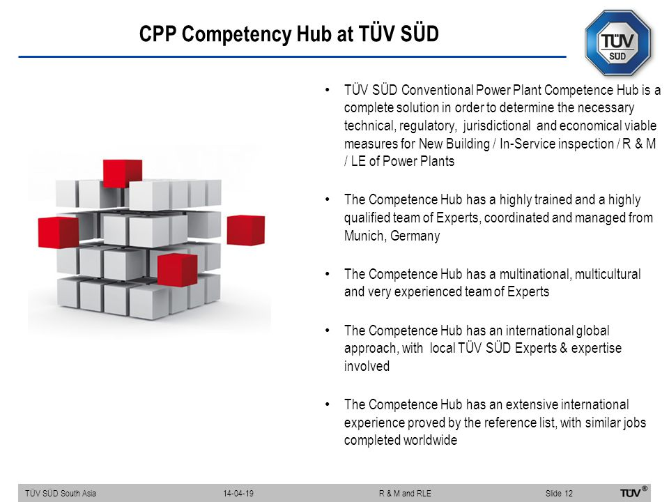 CPP Competency Hub at TÜV SÜD