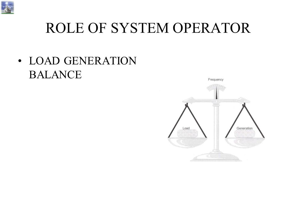 ROLE OF SYSTEM OPERATOR