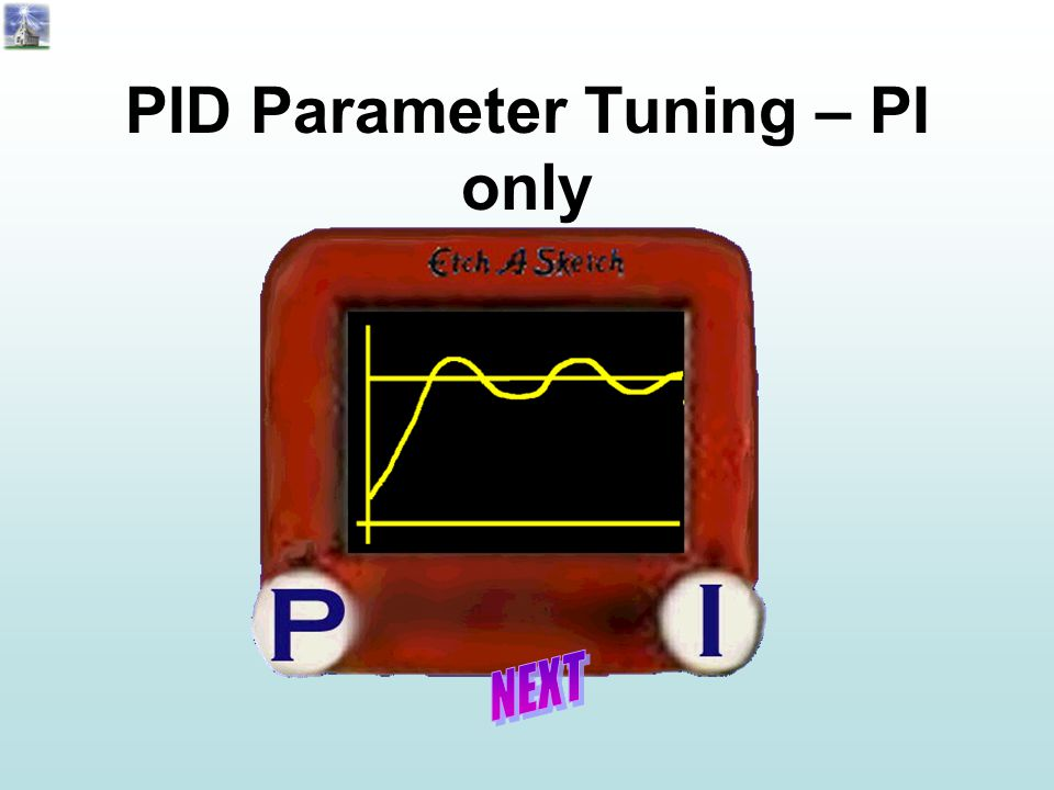 PID Parameter Tuning – PI only