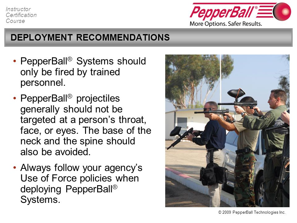 DEPLOYMENT RECOMMENDATIONS