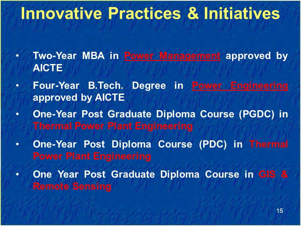 Innovative Practices & Initiatives