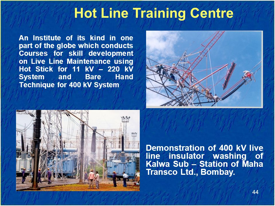 Hot Line Training Centre
