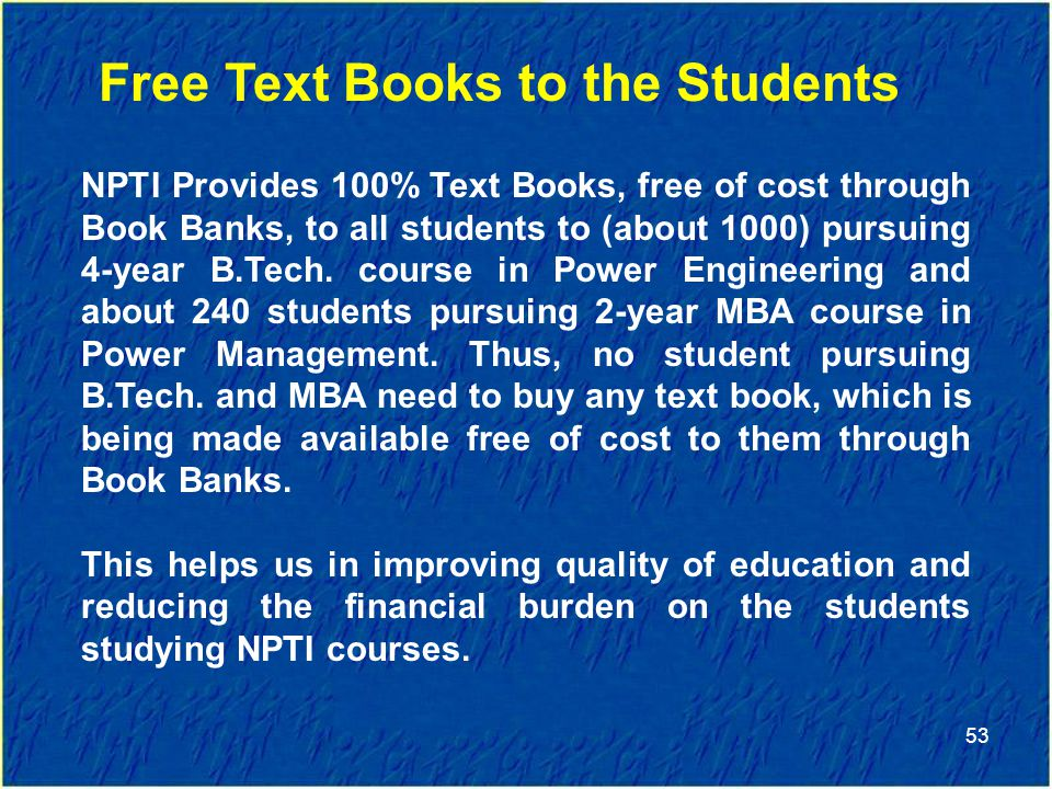 Free Text Books to the Students