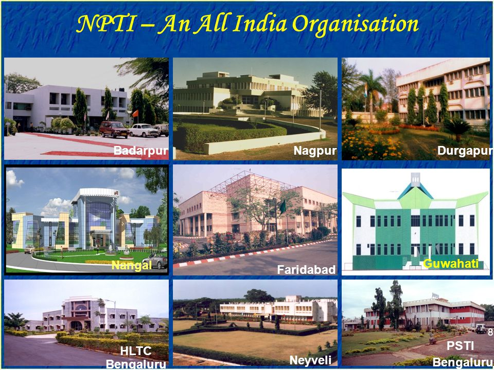 NPTI – An All India Organisation