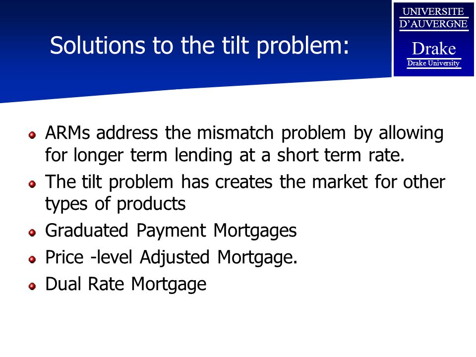 Solutions to the tilt problem: