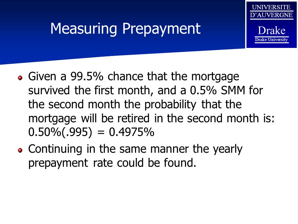 Measuring Prepayment