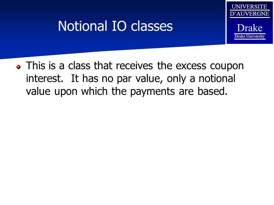 Notional IO classes