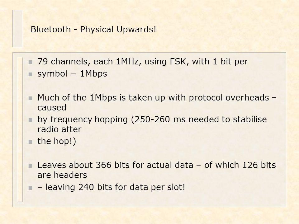 Bluetooth - Physical Upwards!