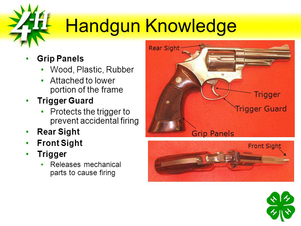 Handgun Knowledge Grip Panels Wood, Plastic, Rubber