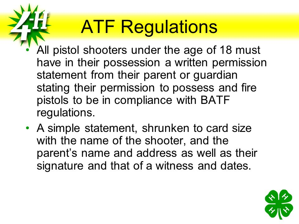 ATF Regulations