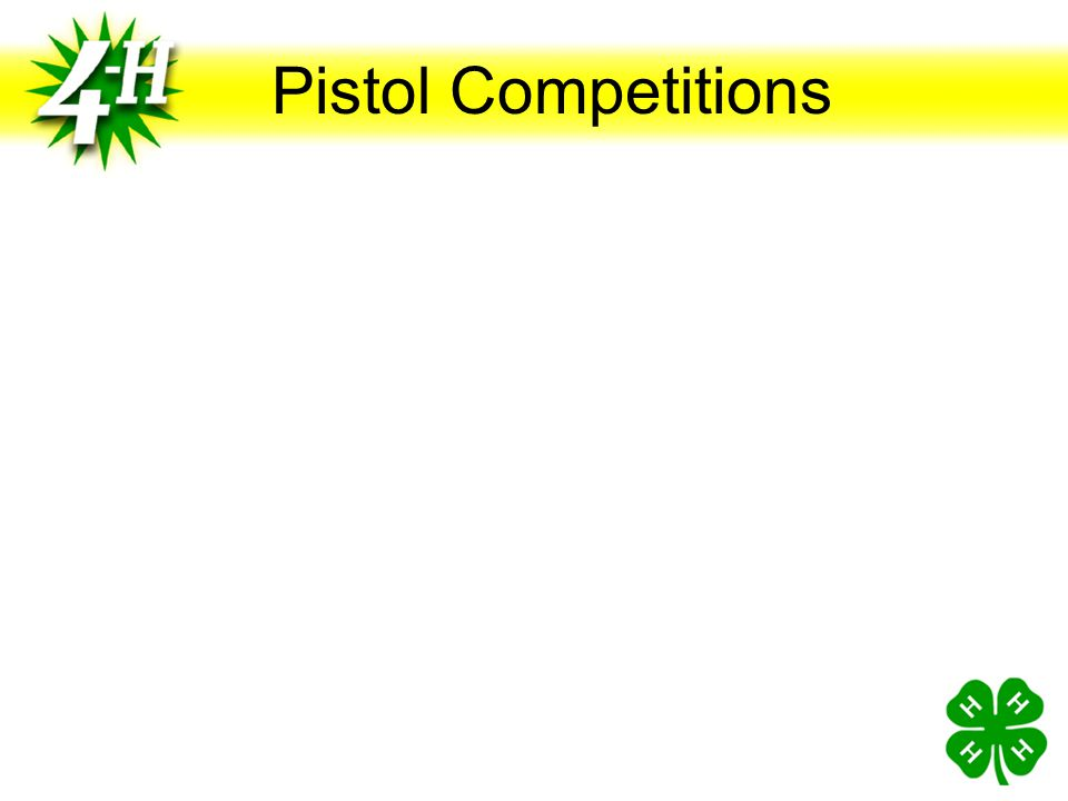 Pistol Competitions