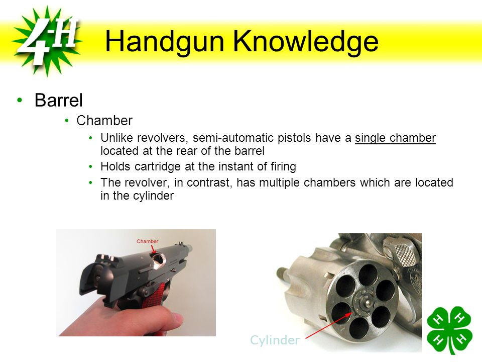 Handgun Knowledge Barrel Chamber