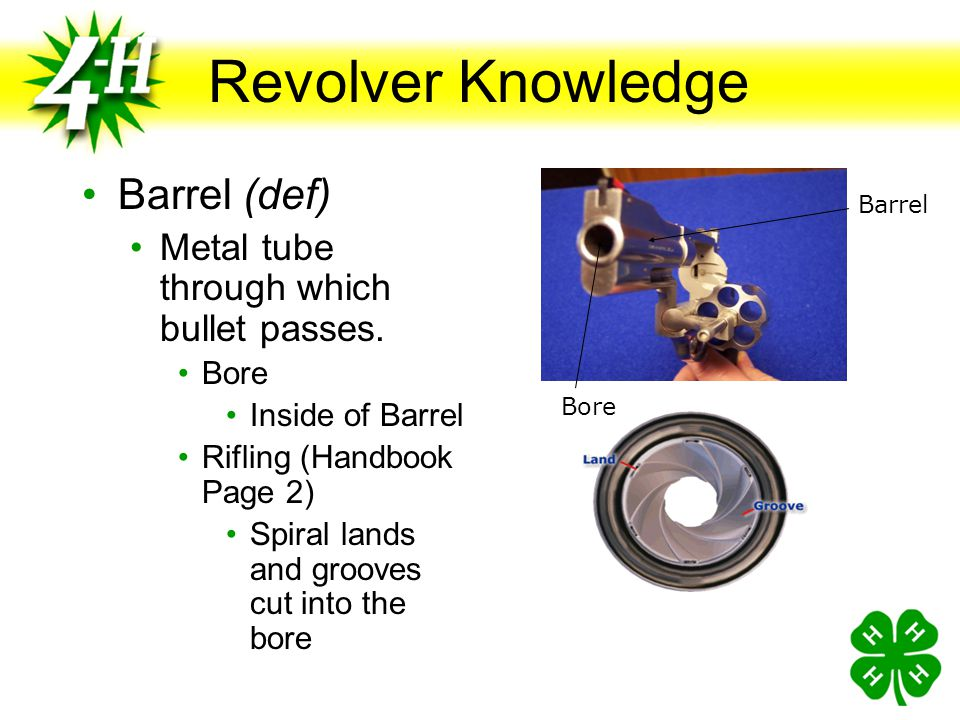 Revolver Knowledge Barrel (def)