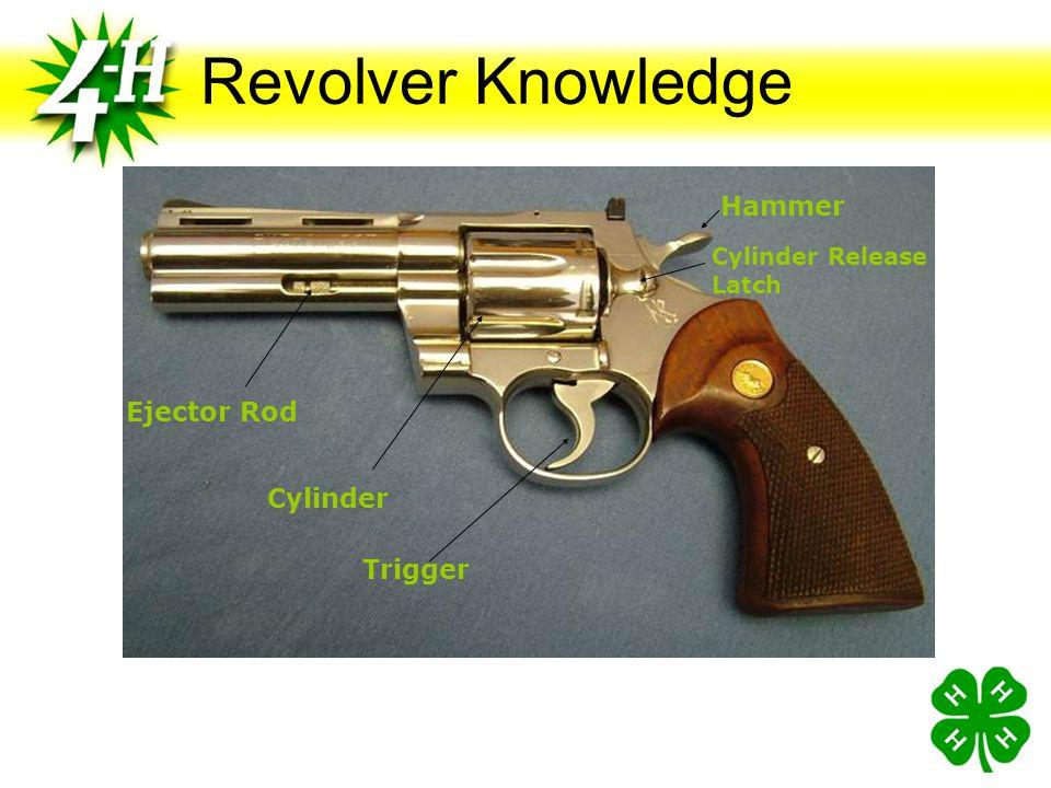 Revolver Knowledge Hammer Ejector Rod Cylinder Trigger