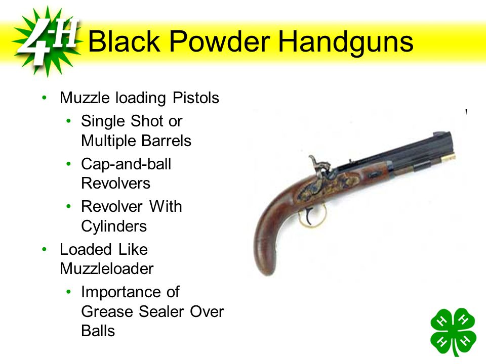 Black Powder Handguns Muzzle loading Pistols