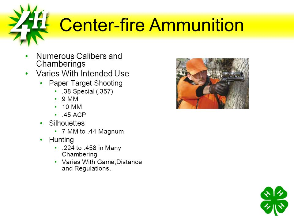 Center-fire Ammunition
