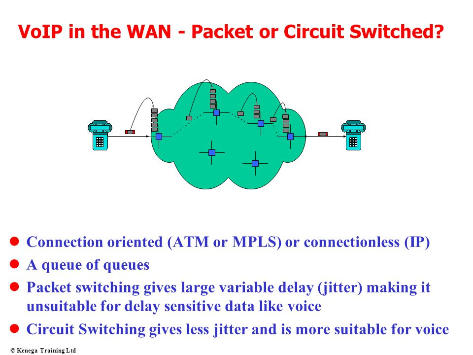 VoIP in the WAN - Packet or Circuit Switched