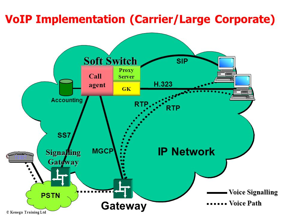 VoIP Implementation (Carrier/Large Corporate)