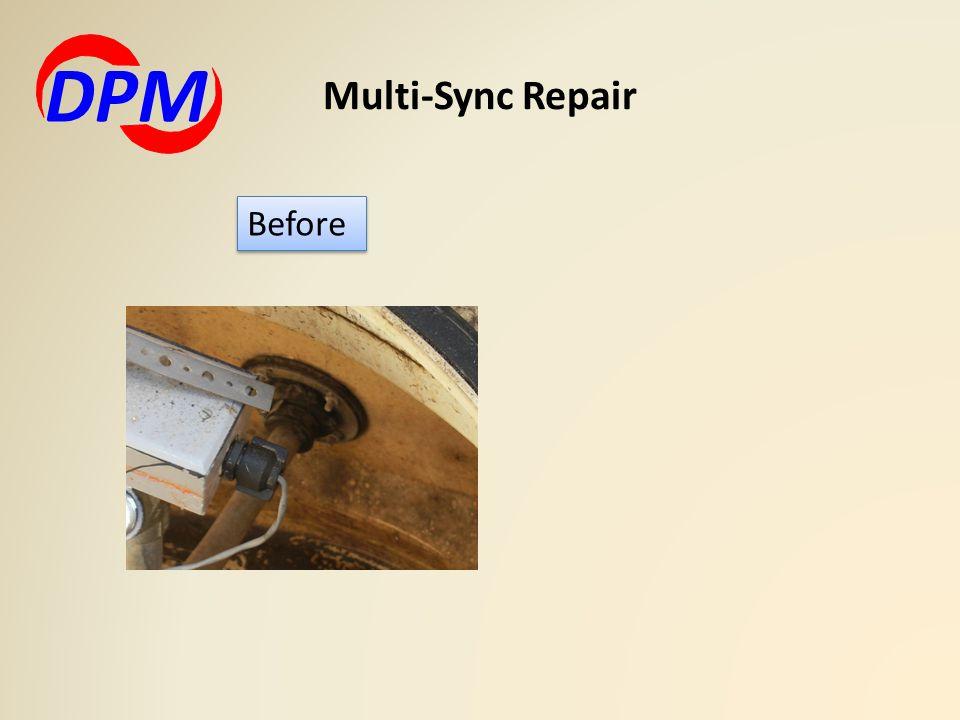 DPM Multi-Sync Repair Before