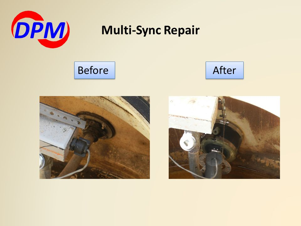 DPM Multi-Sync Repair Before After