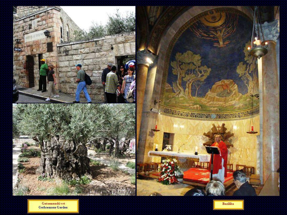 Getsemanski vrt Gethsemane Garden Bazilika