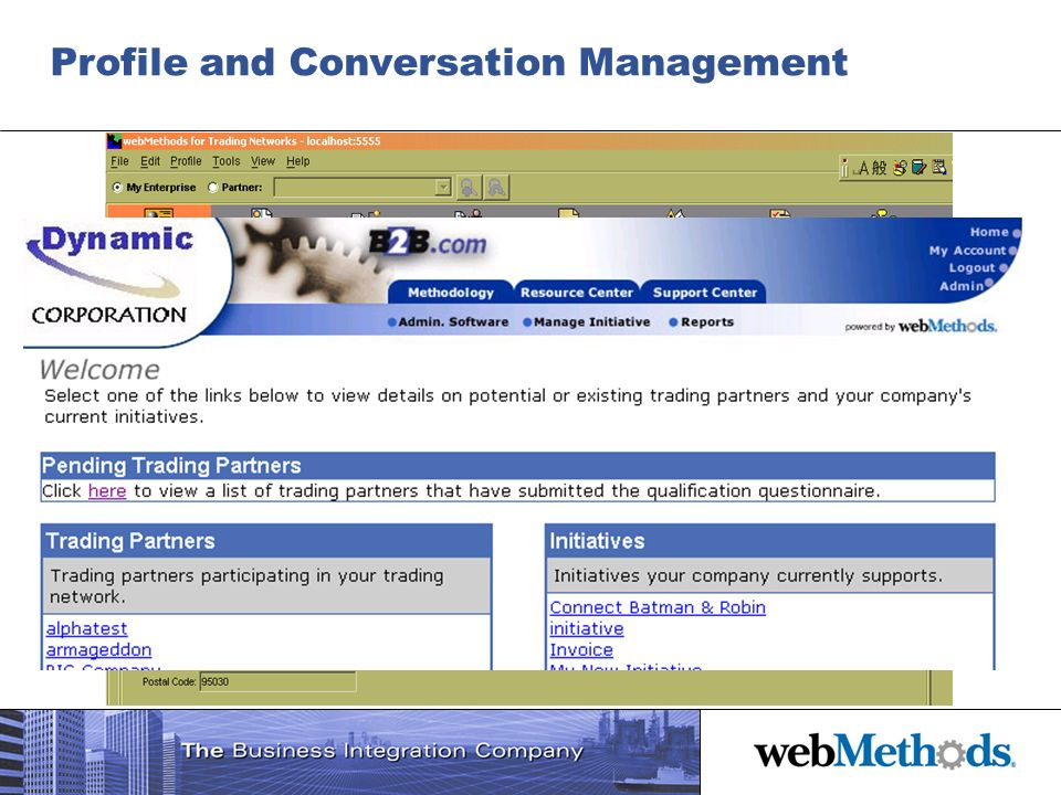 Profile and Conversation Management