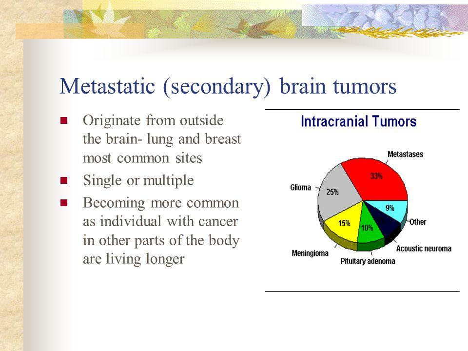 Metastatic (secondary) brain tumors