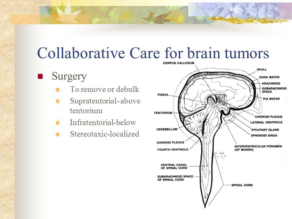 Collaborative Care for brain tumors