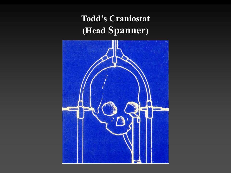 Todd's Craniostat (Head Spanner)