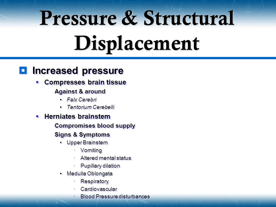 Pressure & Structural Displacement