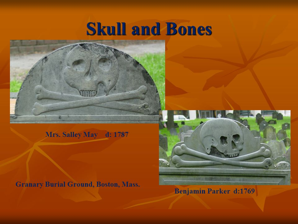 Skull and Bones Mrs. Salley May d: 1787