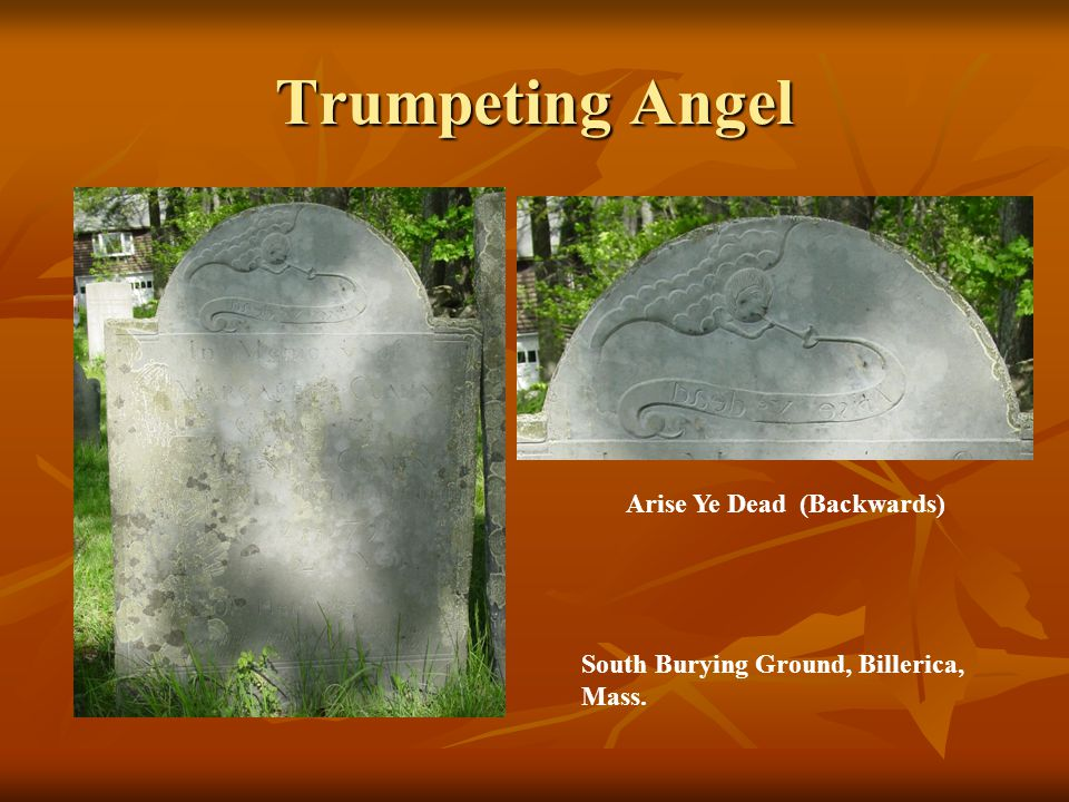 Trumpeting Angel Arise Ye Dead (Backwards)