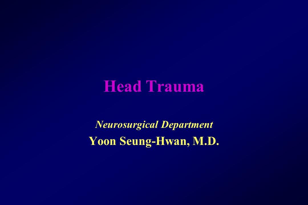 Neurosurgical Department Yoon Seung-Hwan, M.D.