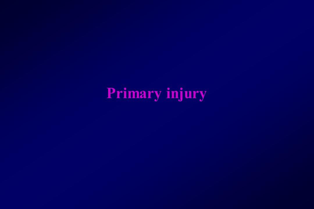 Primary injury