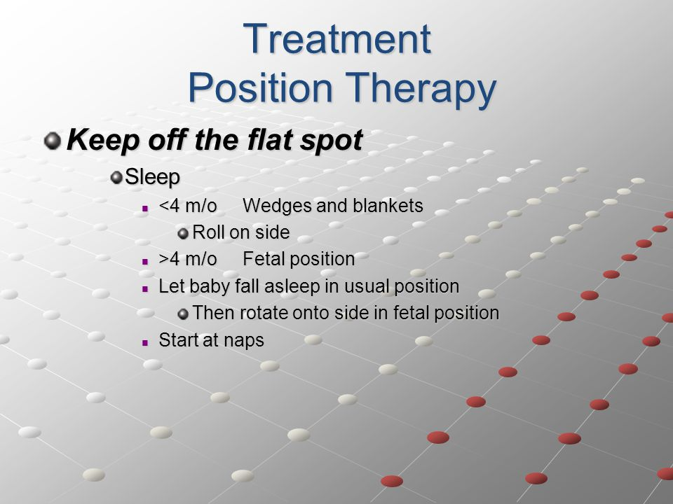 Treatment Position Therapy