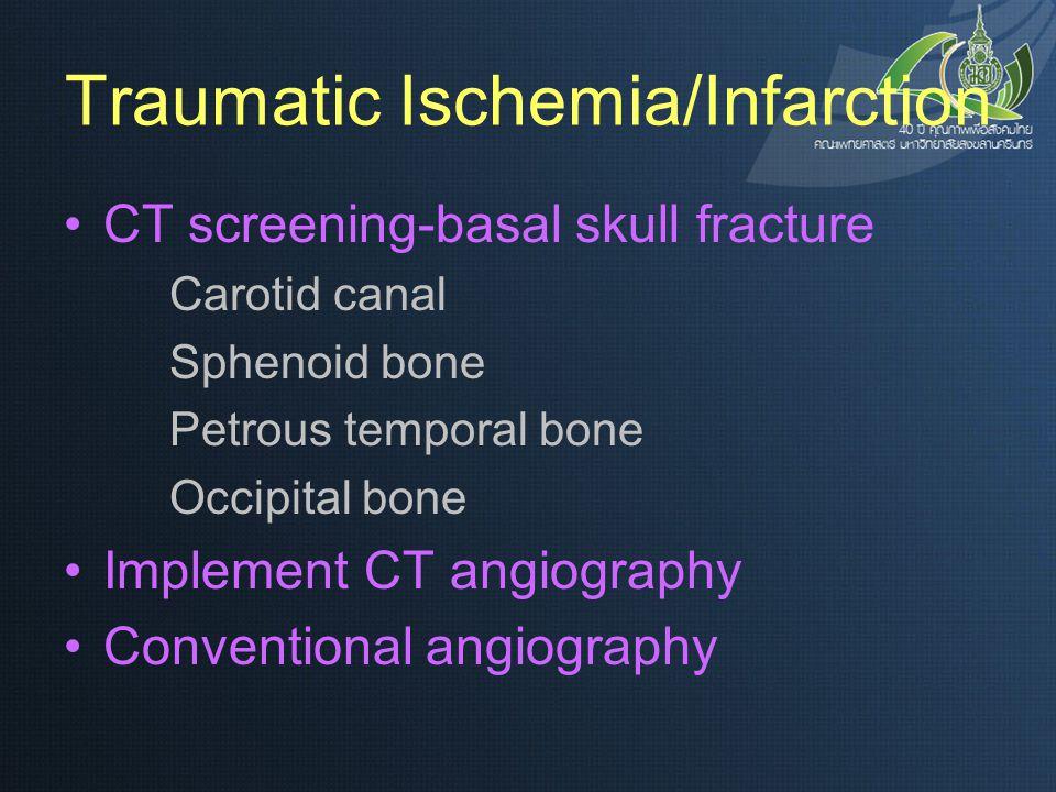 Traumatic Ischemia/Infarction