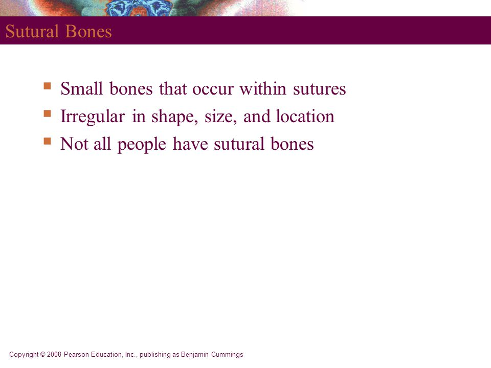 Small bones that occur within sutures