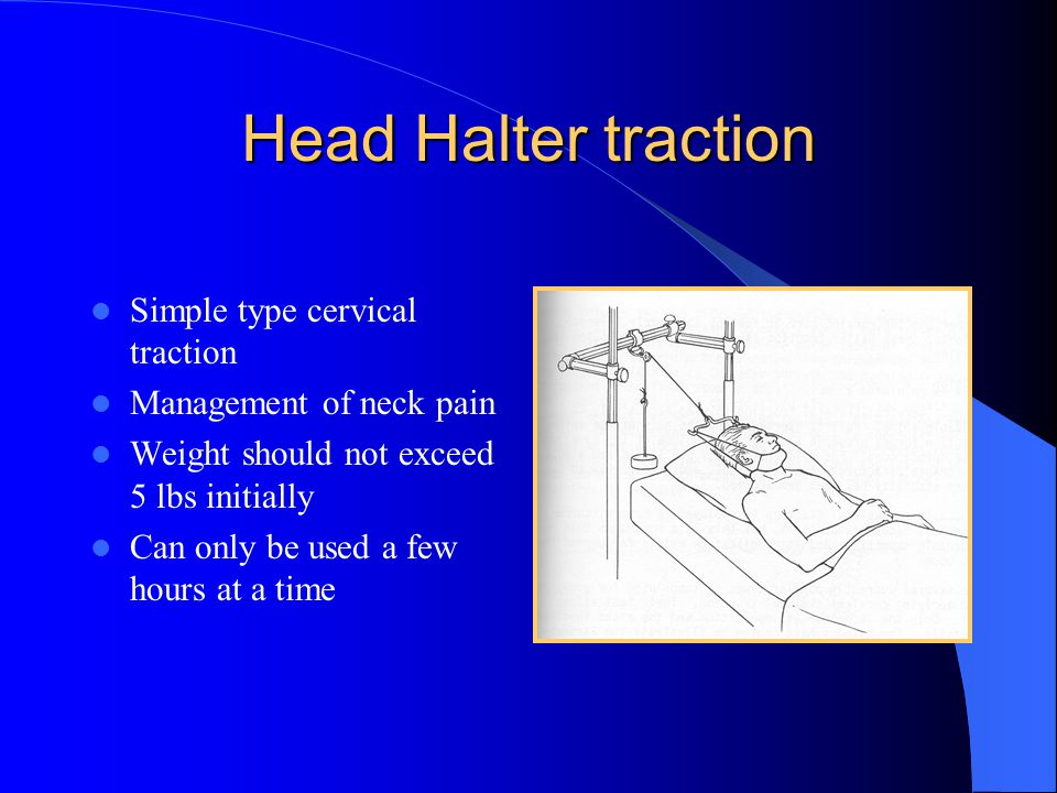 Head Halter traction Simple type cervical traction