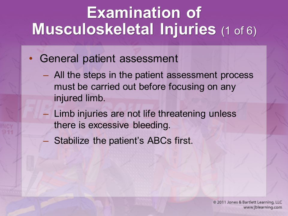 Examination of Musculoskeletal Injuries (1 of 6)