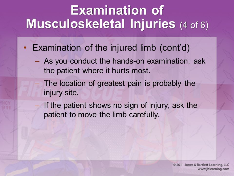 Examination of Musculoskeletal Injuries (4 of 6)