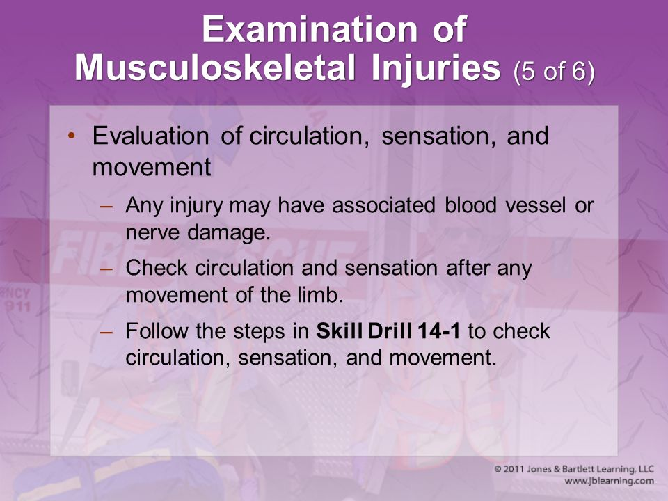 Examination of Musculoskeletal Injuries (5 of 6)