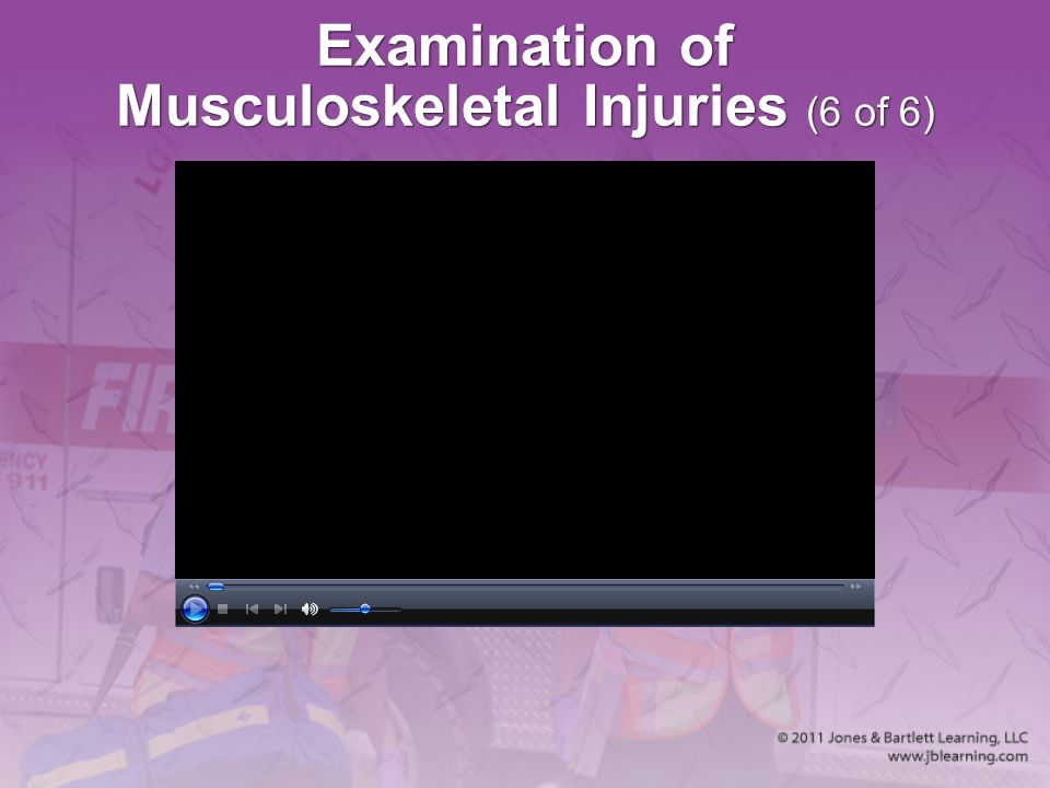 Examination of Musculoskeletal Injuries (6 of 6)