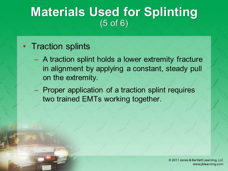Materials Used for Splinting (5 of 6)